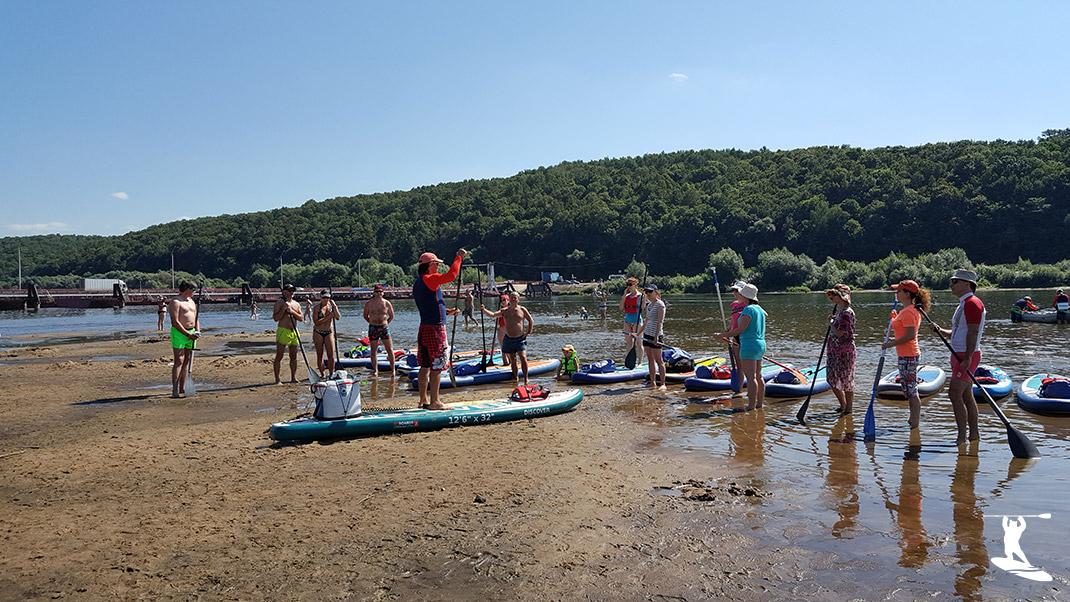 SUP-урок перед спуском на воду